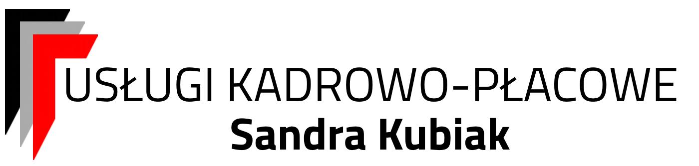 Usługi Kadrowo-Płacowe Sandra Kubiak